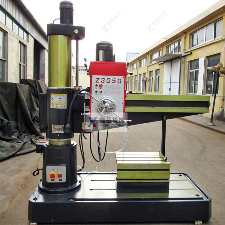 Z3050X16半液压摇臂钻床实物图